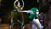 Maiev walks in on Naisha pleasuring the man she must make sure never leads the prison.  Jealousy raging, but for who?