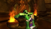 Thrall and Jaina enjoy some light diplomacy.